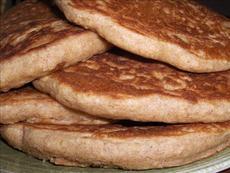 Hearty Honey Whole Wheat Pancakes