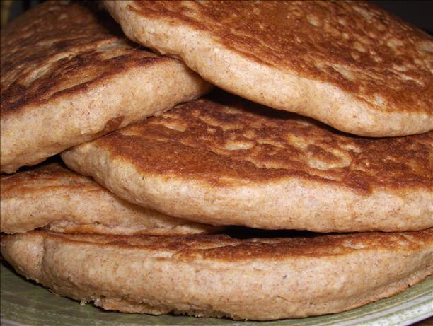 Hearty Honey Whole Wheat Pancakes