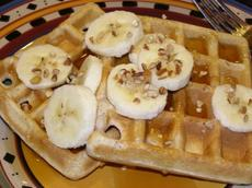 Whole Wheat and Flax Waffles