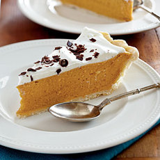 Spiced Pumpkin Chiffon Pie