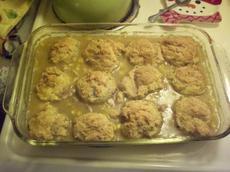 Oven Chicken and Dumpling Casserole