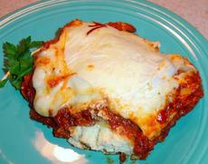 Smaller Lasagna for Two