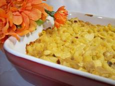 Macaroni and Chicken Casserole