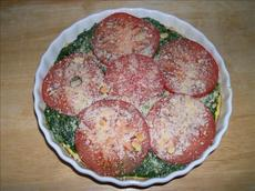Eggs and Tomatoes Florentine