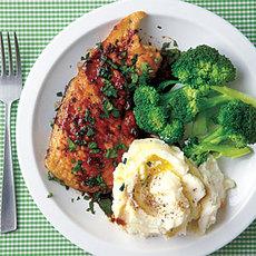 Sautéed Worcestershire Chicken