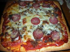 Fat Matt's Favorite Thin Crust Pizza