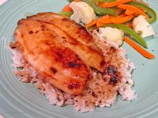 Sauteed Tilapia With Citrus-Soy Marinade