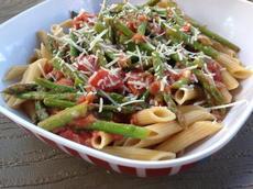 Penne With Asparagus Sauce