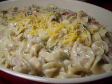 Light Tuna Noodle Casserole
