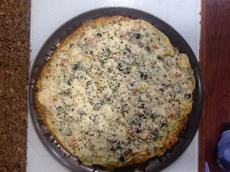 Pesto-artichoke Pizza