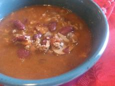 Chili With Beans and Beer (Crock Pot)