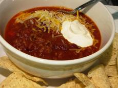 Wendys Chili - Swedish Style