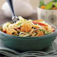 Curried Noodles with Tofu