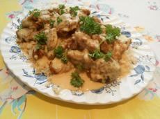 Luau Restaurant Celestial Chicken With Supreme Sauce