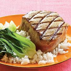 Double-Sesame Grilled Tuna