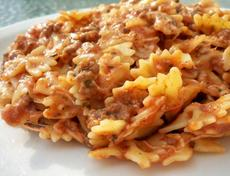 "Mom's Italian ""Hamburger Helper"""