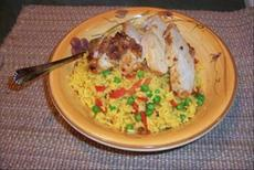 Cuban Chicken With Yellow Rice
