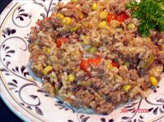 Ground Beef and Rice