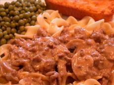 Quick and Easy Ground Beef Stroganoff