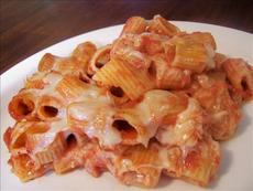 Italian Casserole (Rigatoni and Cheese With Tomato Sauce)