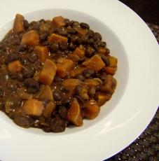 Black Bean Sweet Potato Jumble
