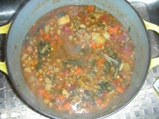 Lentil Soup With Swiss Chard