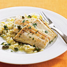 Pan-Sautéed Trout with Capers