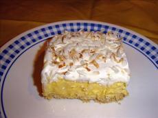 Coconut Cream Frozen Dessert