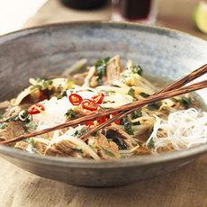 Vietnamese Beef-Noodle Bowl