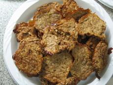 Low Fat Sweet Apples' Latkes (Kosher-Pareve)