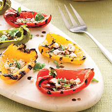 Grilled Rainbow Peppers