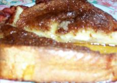 French Toast With Pears, Brie, and Cinnamon