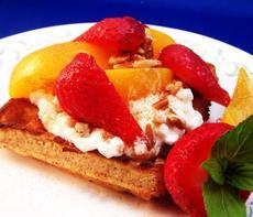 Peachy Breakfast Shortcake
