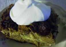 Banana Bread-Bread Pudding