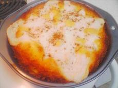 Pineapple 'n' Cream Cheesecake