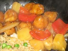 Sweet & Sour Popcorn Chicken