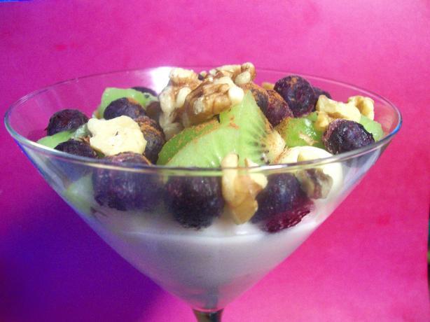 low fat fruit salad yogurt