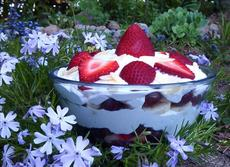 Fruit and Cream Layered Salad