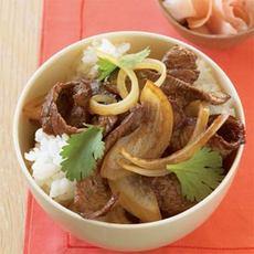 Japanese Beef Bowl