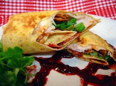 Mean Chef's Zuni Rolls With Raspberry Chipotle Sauce