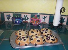 """CopyCat Junior's """"Berries on Top"""" Jumbo Blueberry Muffins"""