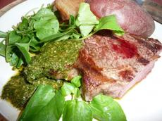 Cool Jazz and Hot to Trot South American Chimichurri Steak!