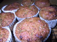 Food Processor Orange Date Muffins