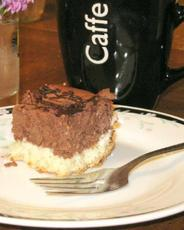 Chocolate Coconut Cheesecake Bars