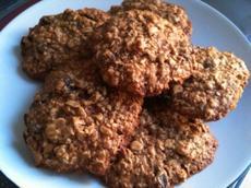 Healthy Honey Oatmeal Cookies