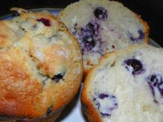 Joyously Jumbo Blueberry Muffins (Regular Size Adaptable)