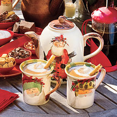 Hot Chocolate With Almond Liqueur