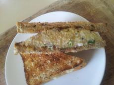 British-Style Cheese and Onion Sandwich for 2
