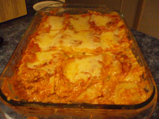 Catch of the Day Lasagna