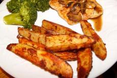 Dijon-Roasted Potatoes (Weight Watchers)
